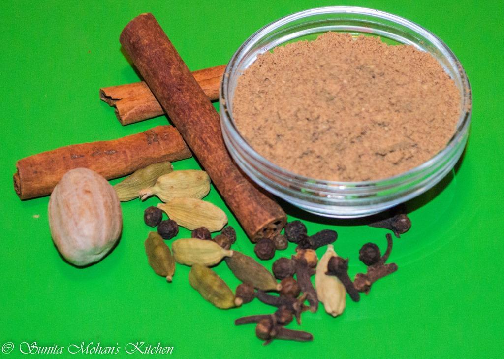 how to make masala tea powder